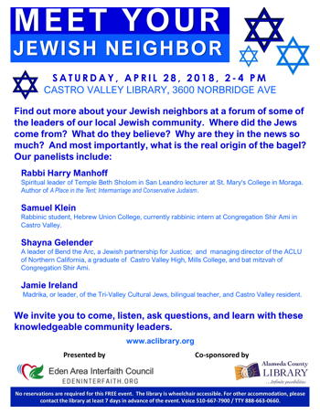 MeetYourJewishNeighbor